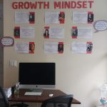Front Room Wall of Axiom Learning College Prep Center in New York City