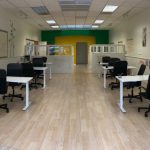 Interior of Axiom Learning College Prep Center in San Francisco