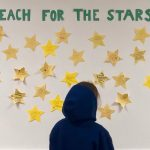 Reach for the Stars Board at Axiom Learning Center in San Francisco
